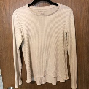 Tops - American Eagle Ribbed Long Sleeve Top